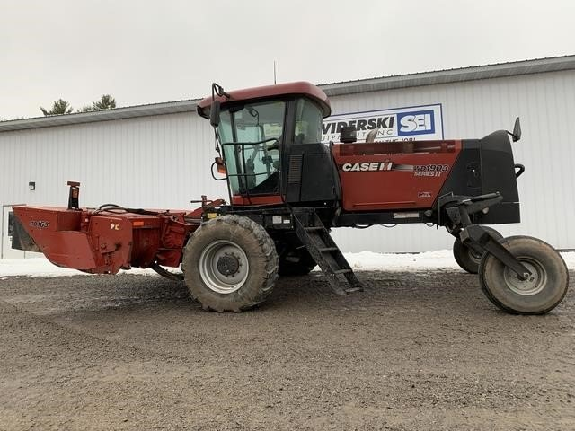 2014 Case IH WD1903 Self-Propelled Windrowers and Swather