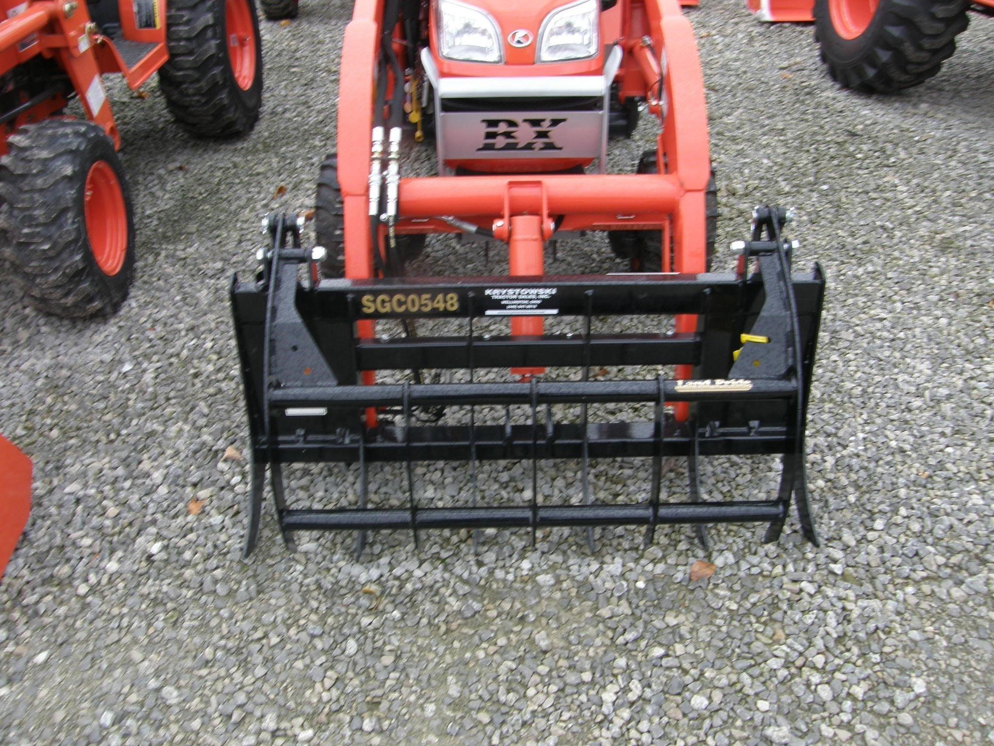 Land Pride SGC0548 Loader and Skid Steer Attachment