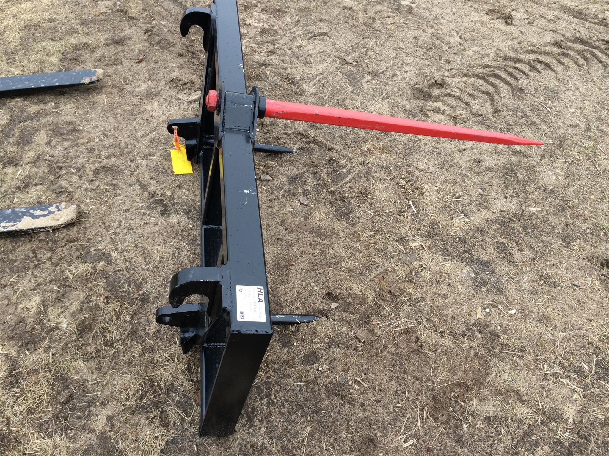 2017 HLA SE50AO600 Loader and Skid Steer Attachment
