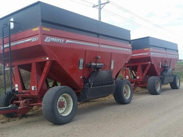 2014 Brent 657 Gravity Wagon