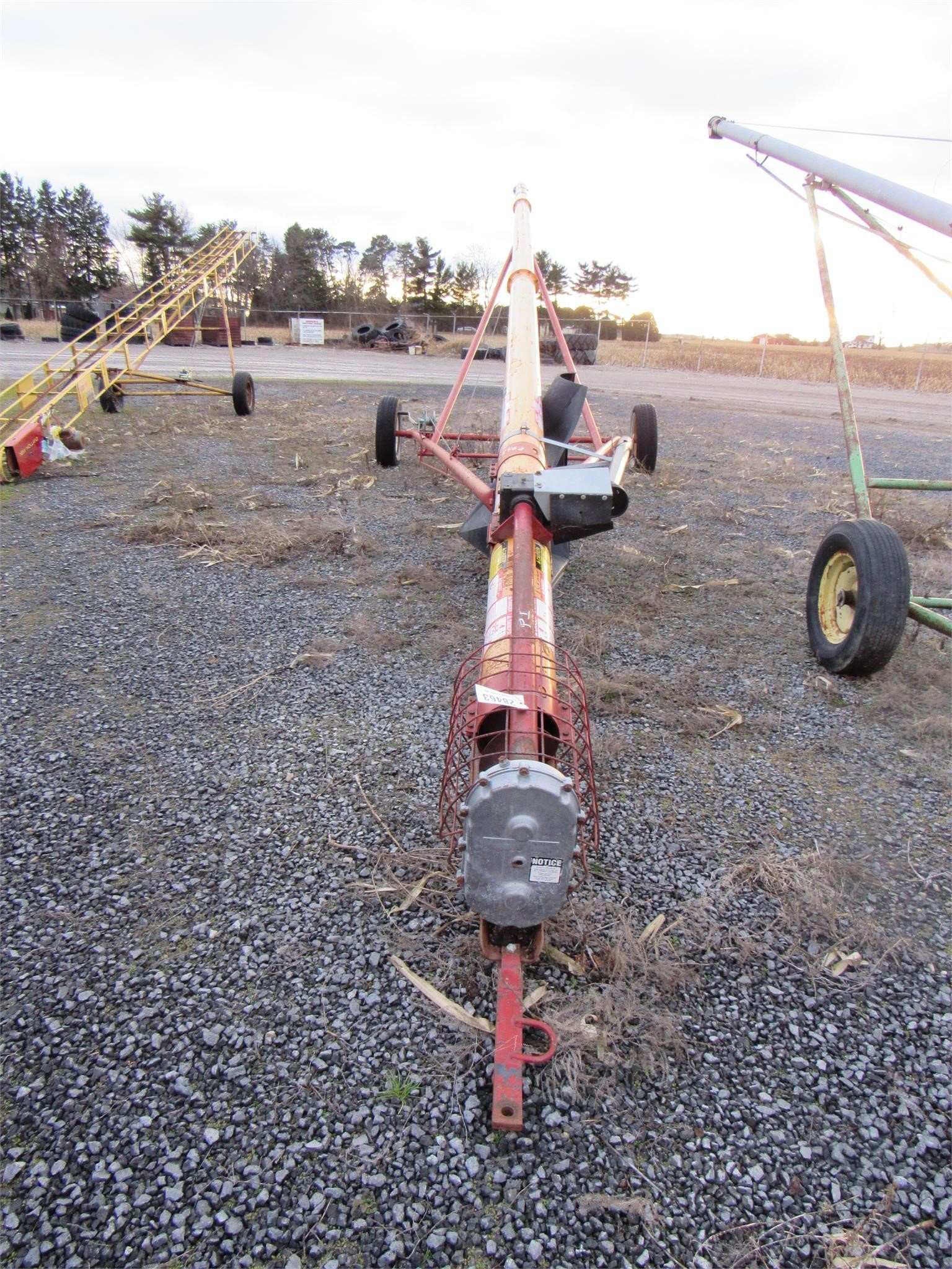 Mayrath 8x50 Augers and Conveyor