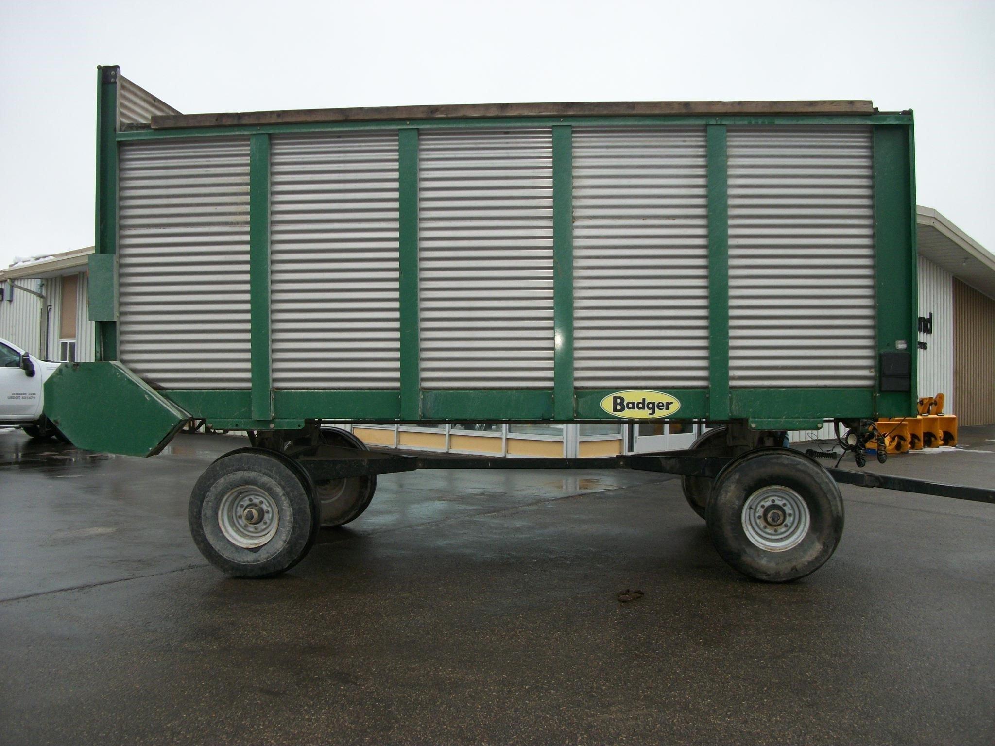 Badger 1200 Forage Wagon