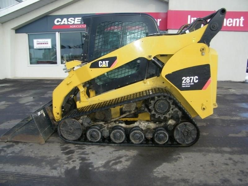 2011 Caterpillar 287C Skid Steer
