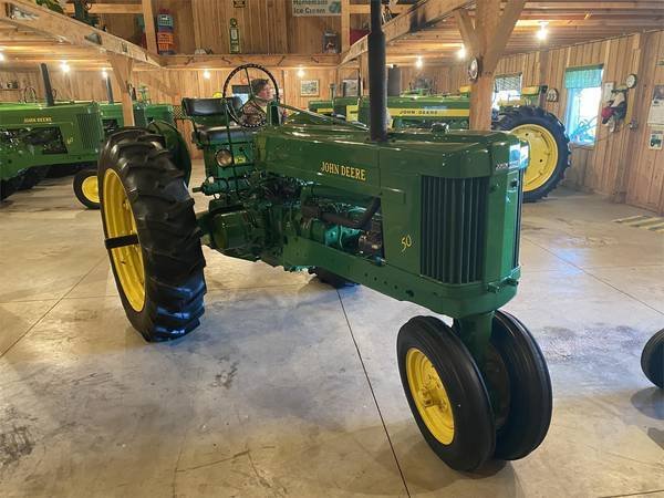 1953 John Deere 50 Miscellaneous