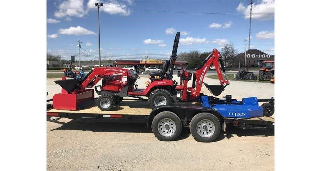 2020 Massey Ferguson GC1725MB Tractor
