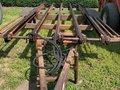 Hesston 4720 Bale Wagons and Trailer