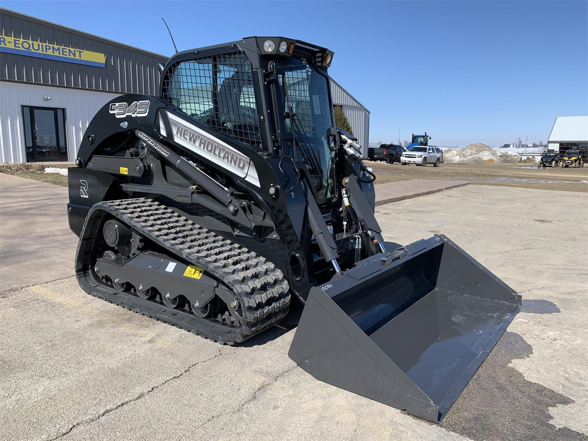 2021 New Holland C345 Skid Steer