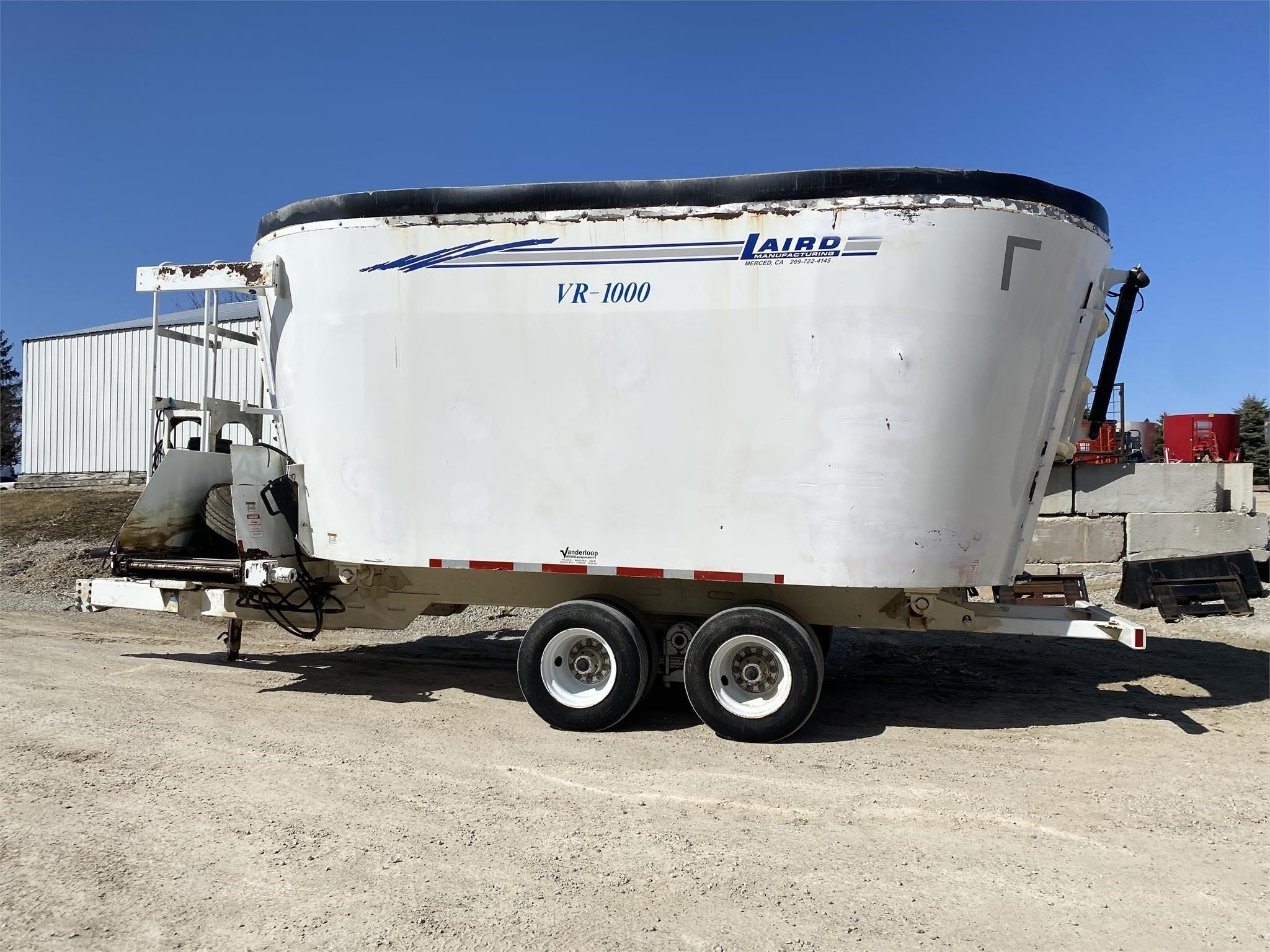 Laird VR1000 Grinders and Mixer
