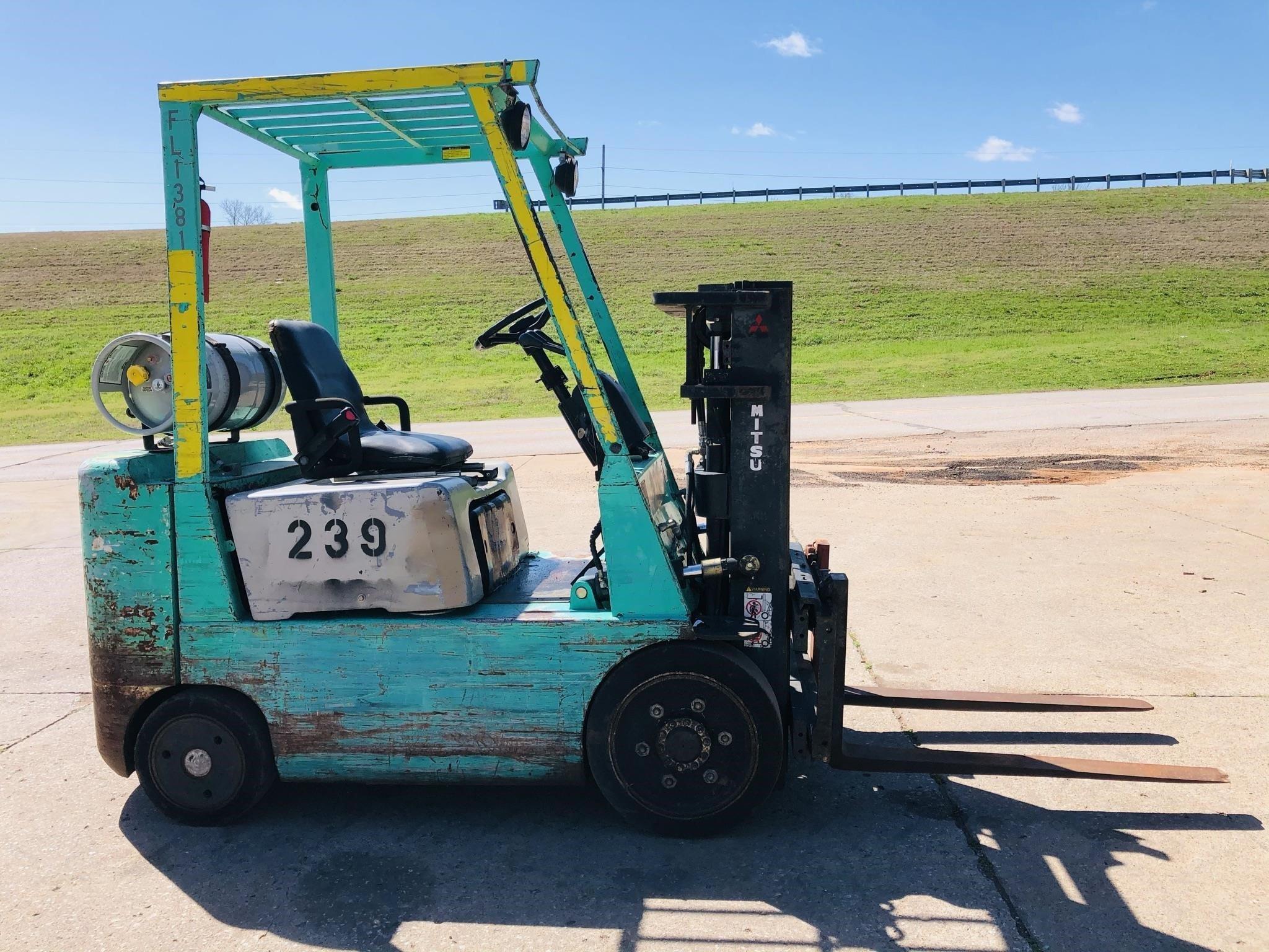 1998 Mitsubishi FGC20 Forklift