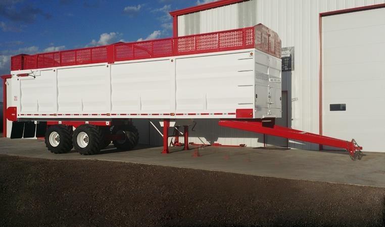 2021 MAS TRAILERS Feed Wagon Feed Wagon