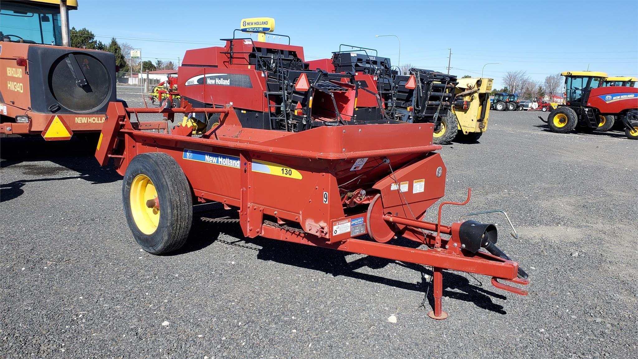 2013 New Holland 130 Manure Spreader