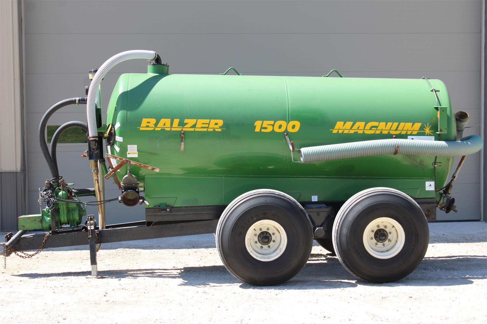 Balzer 1500 Manure Spreader