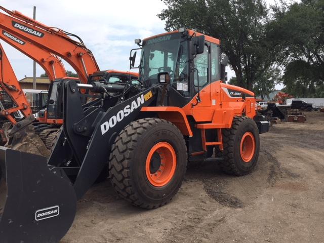 2018 Doosan DL220 Wheel Loader