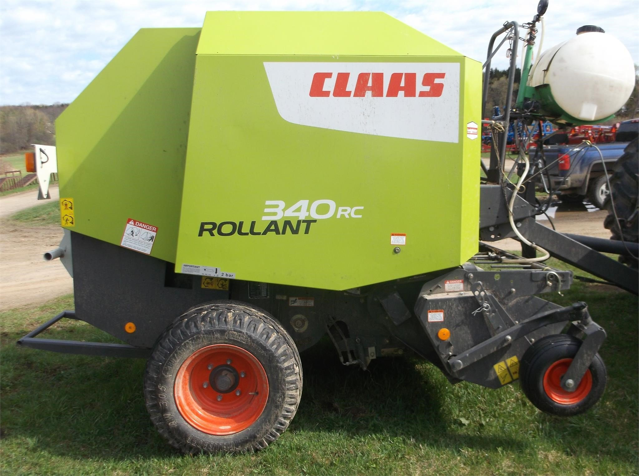 2016 Claas Rollant 340RC Round Baler