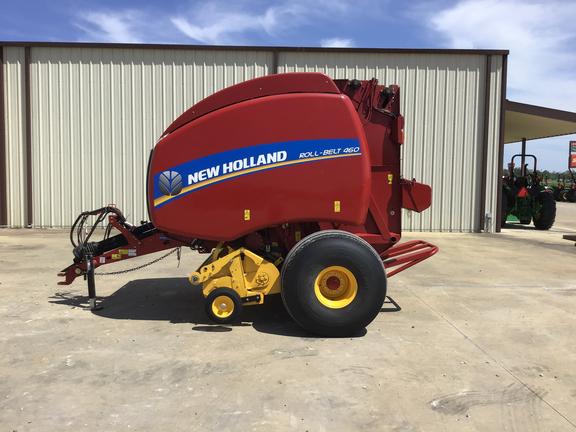 2019 New Holland Rollbelt 460 Bale Wrapper