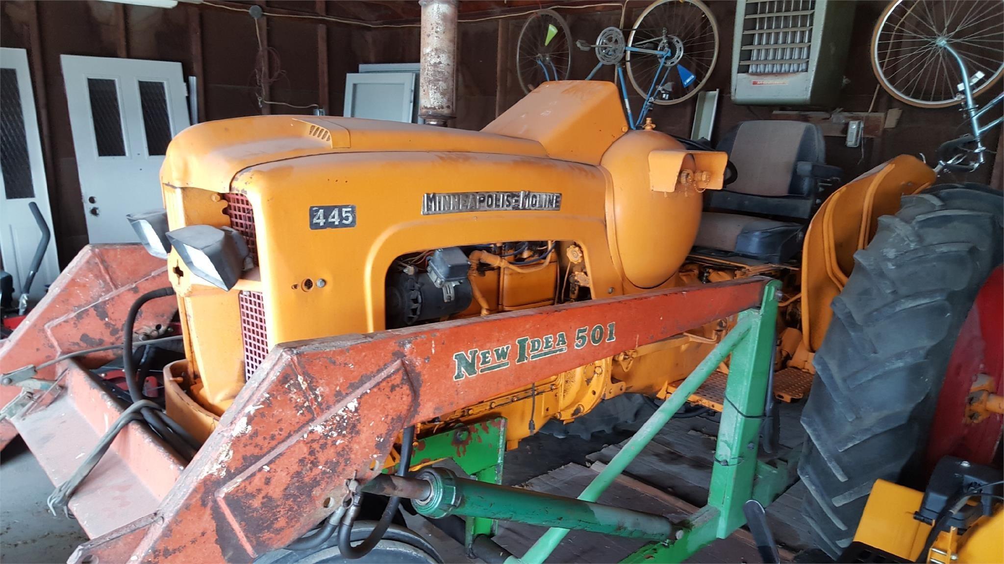 1953 Minneapolis-Moline 445 Tractor