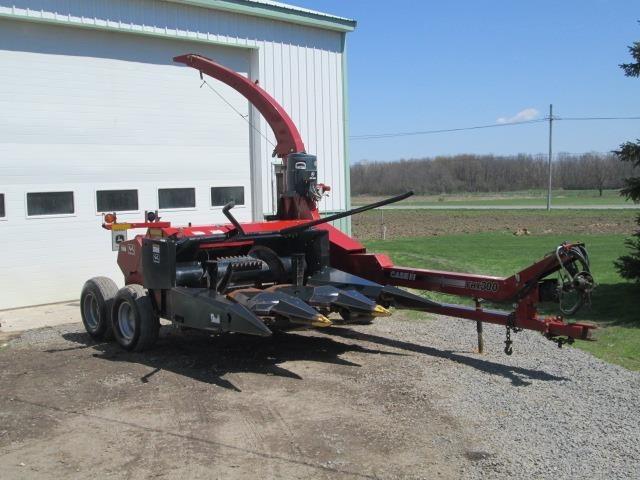 2013 Case IH FHX300 Pull-Type Forage Harvester