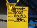 2015 Brandt 1070XL Augers and Conveyor