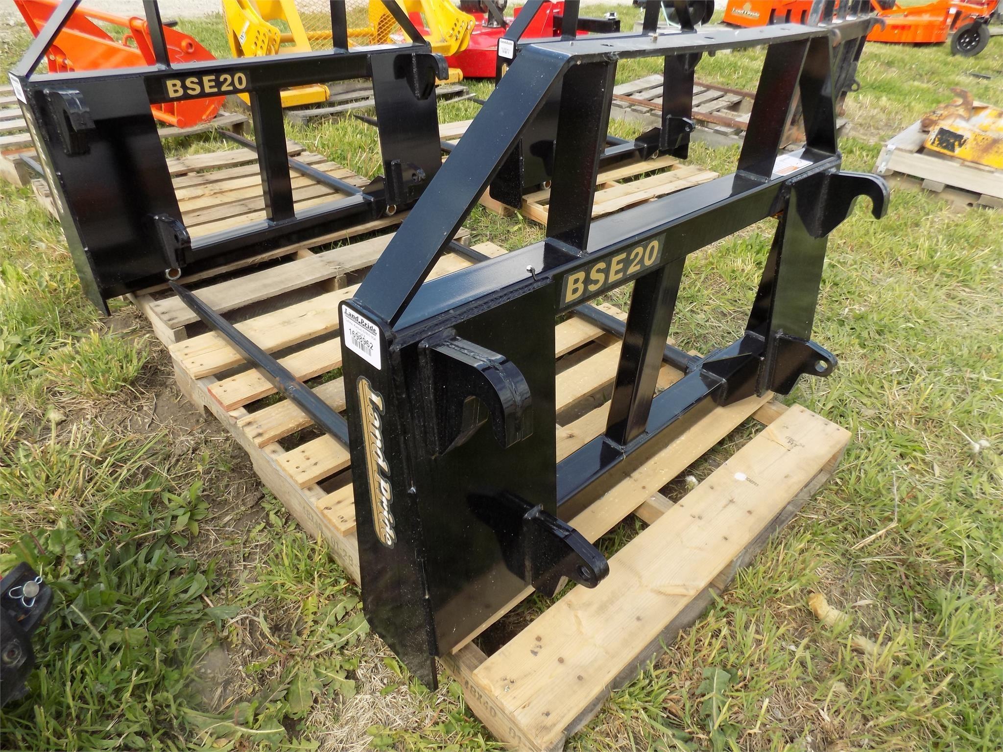 2021 Land Pride BSE20 Loader and Skid Steer Attachment