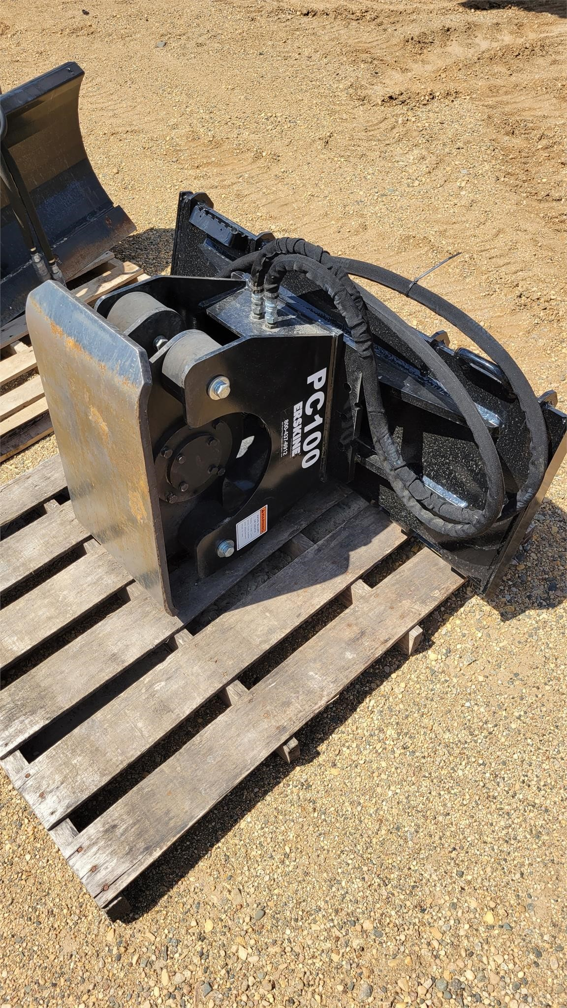 Erskine PC100 Compacting and Paving