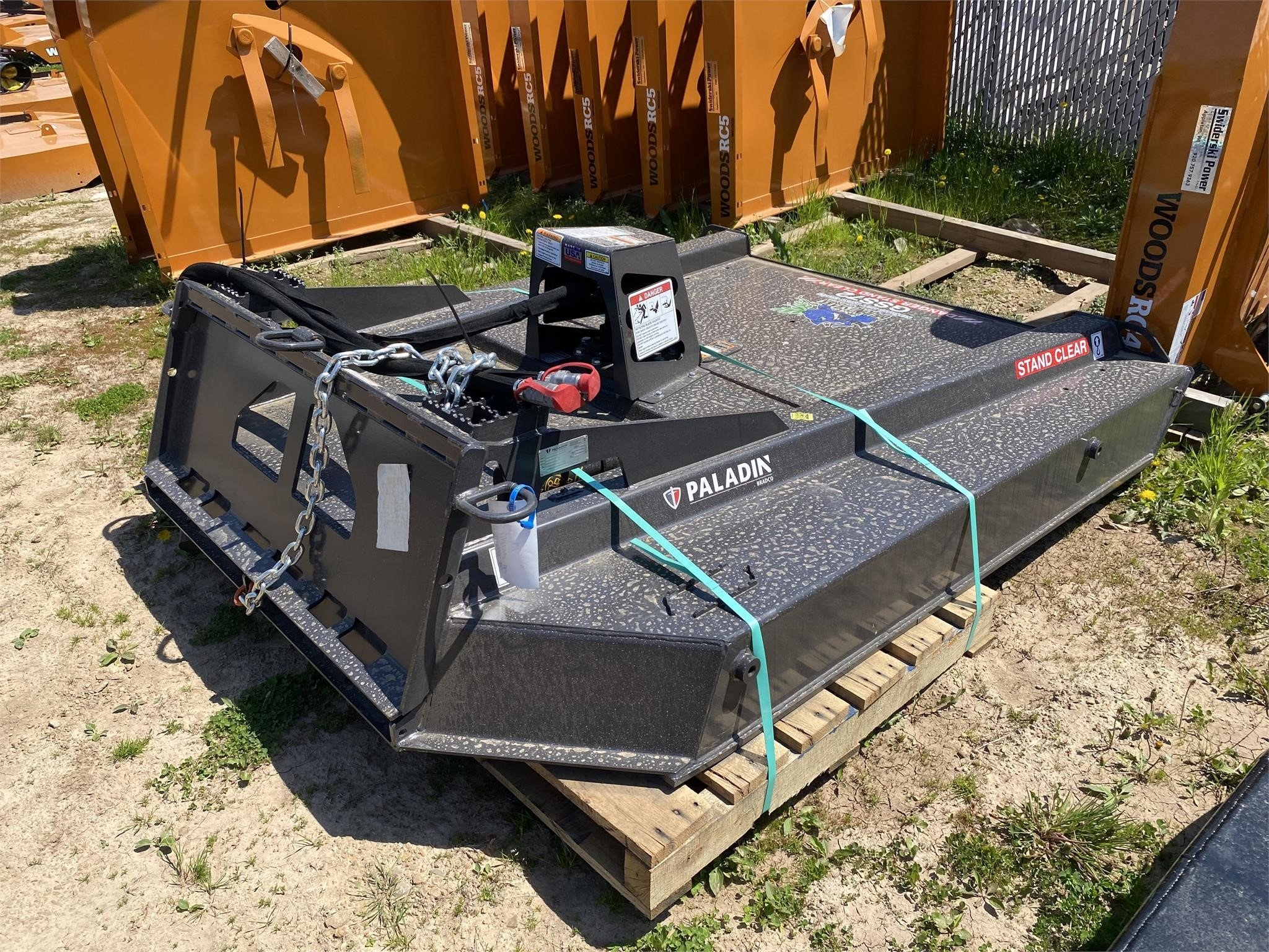2021 Bradco GSS72 Rotary Cutter