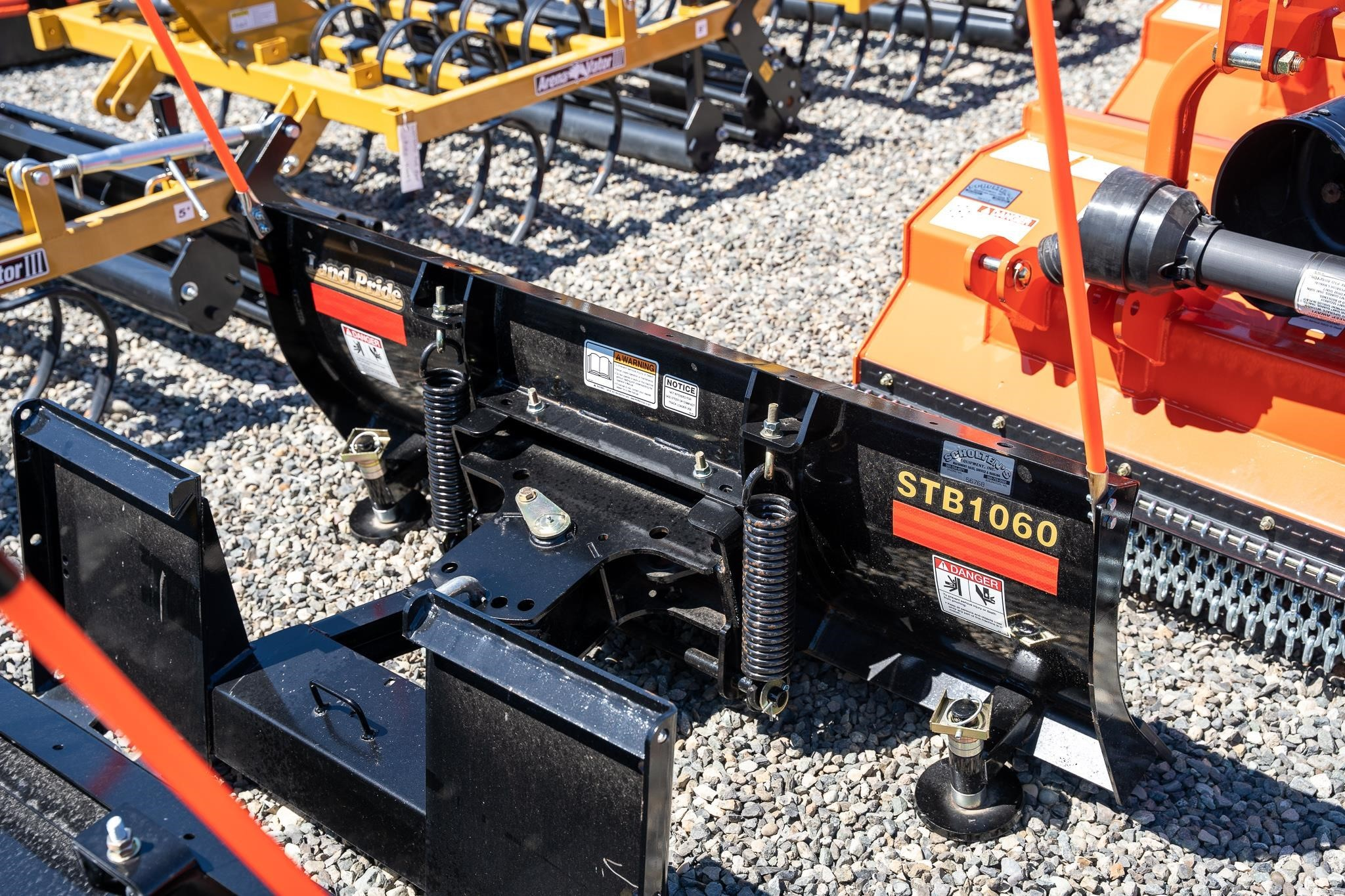 2021 Land Pride STB1060 Loader and Skid Steer Attachment