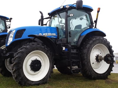 2012 New Holland T7 260 Tractor Hudson Mi Machinery Pete