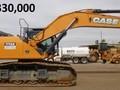 2013 Case CX470C Excavators and Mini Excavator