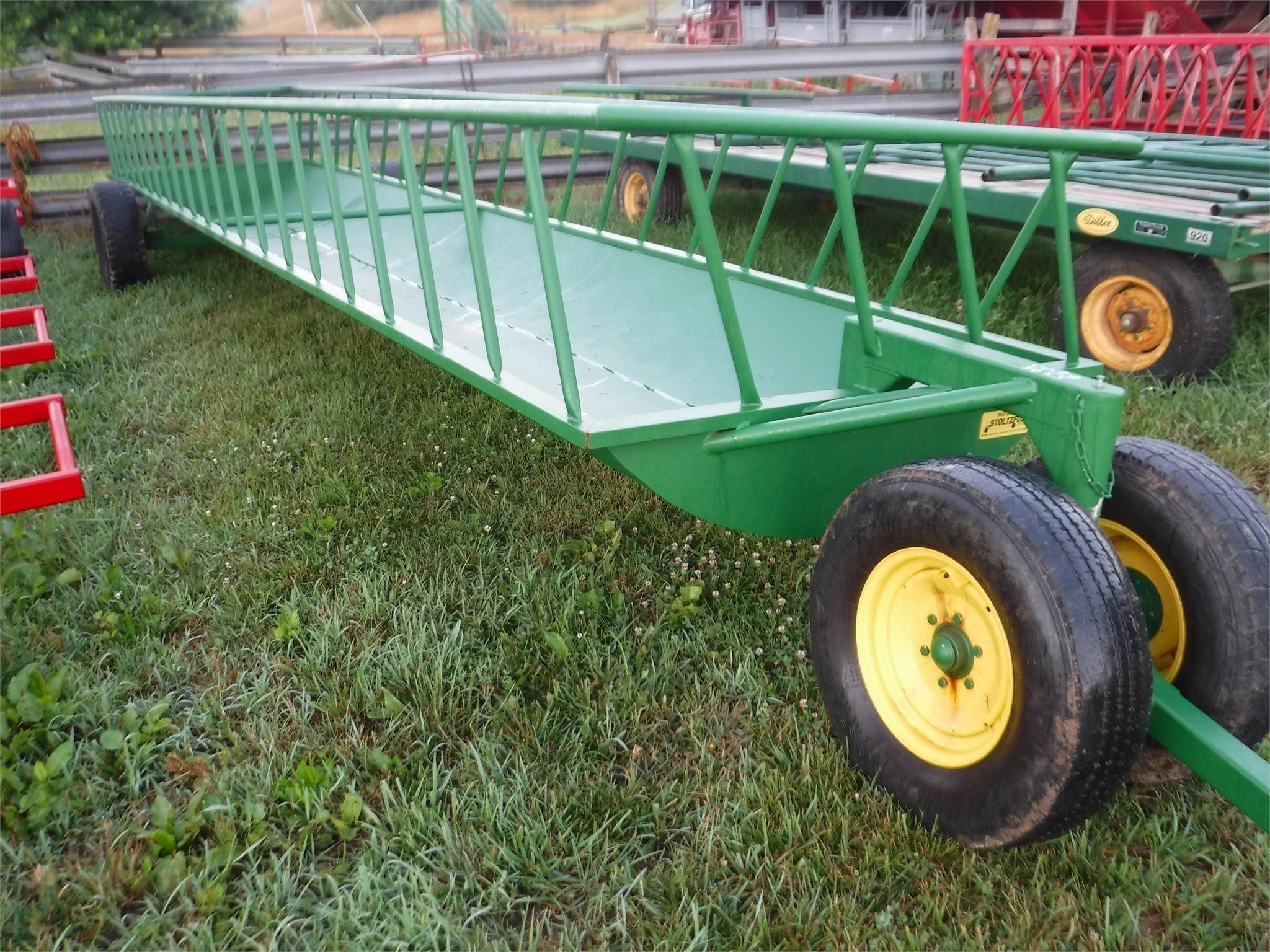 2021 Stoltzfus 5x24 Feed Wagon