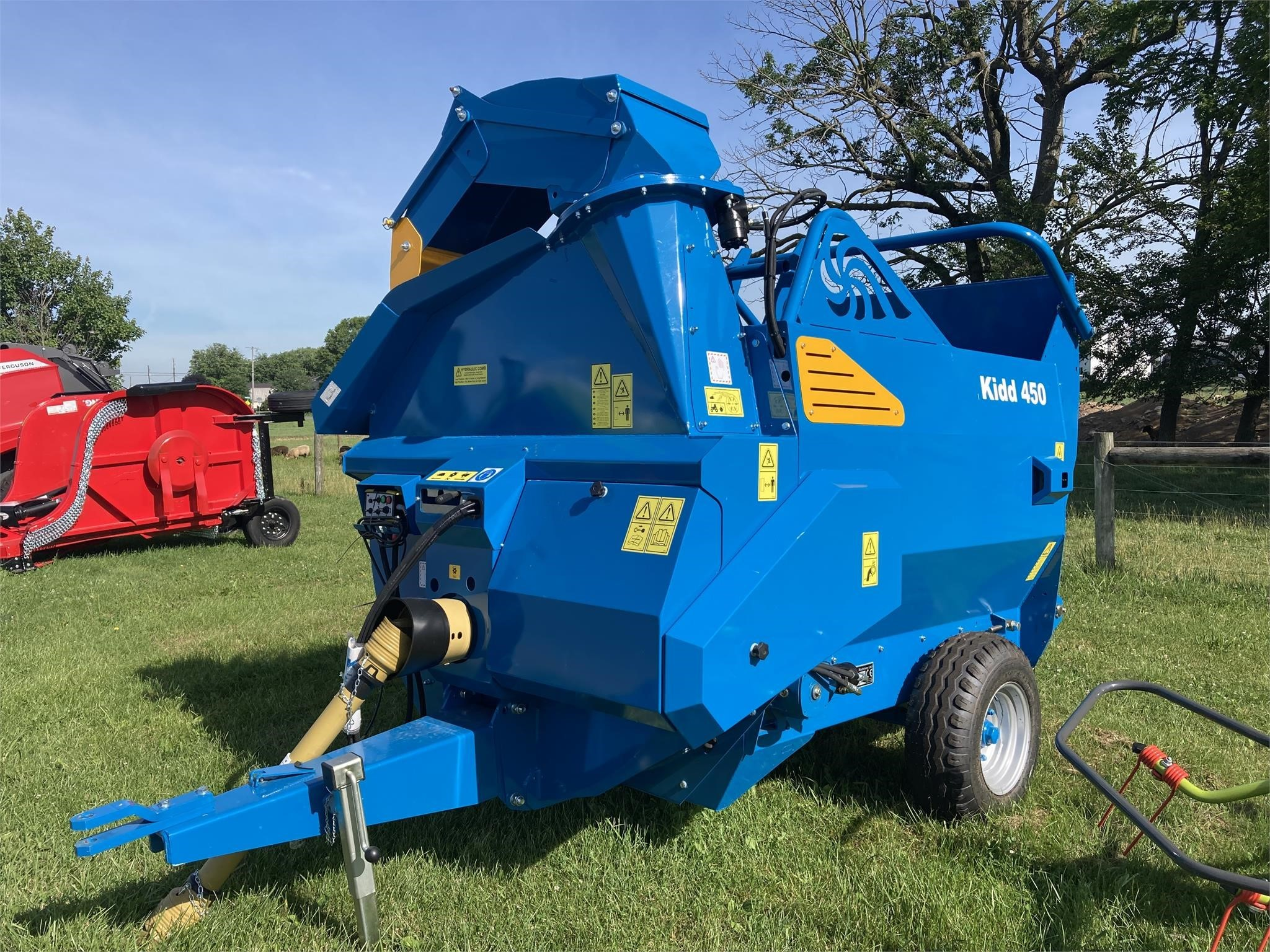 2021 Kidd 450 Grinders and Mixer