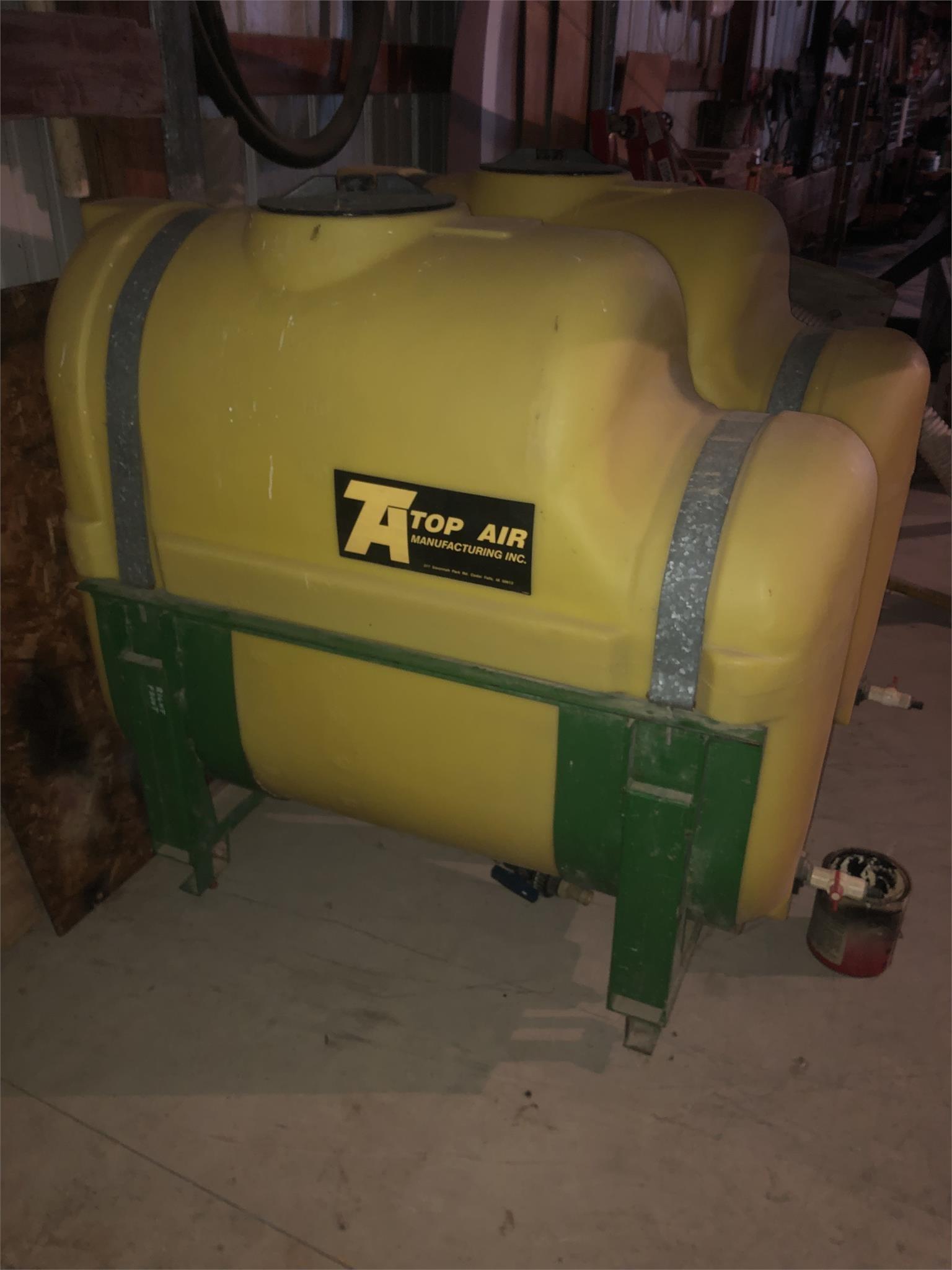 Top Air Saddle Tanks Tank