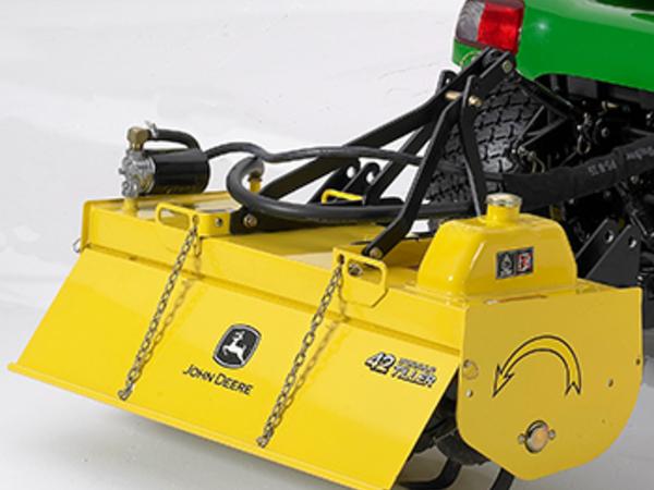 Deere 42 hydraulic tiller