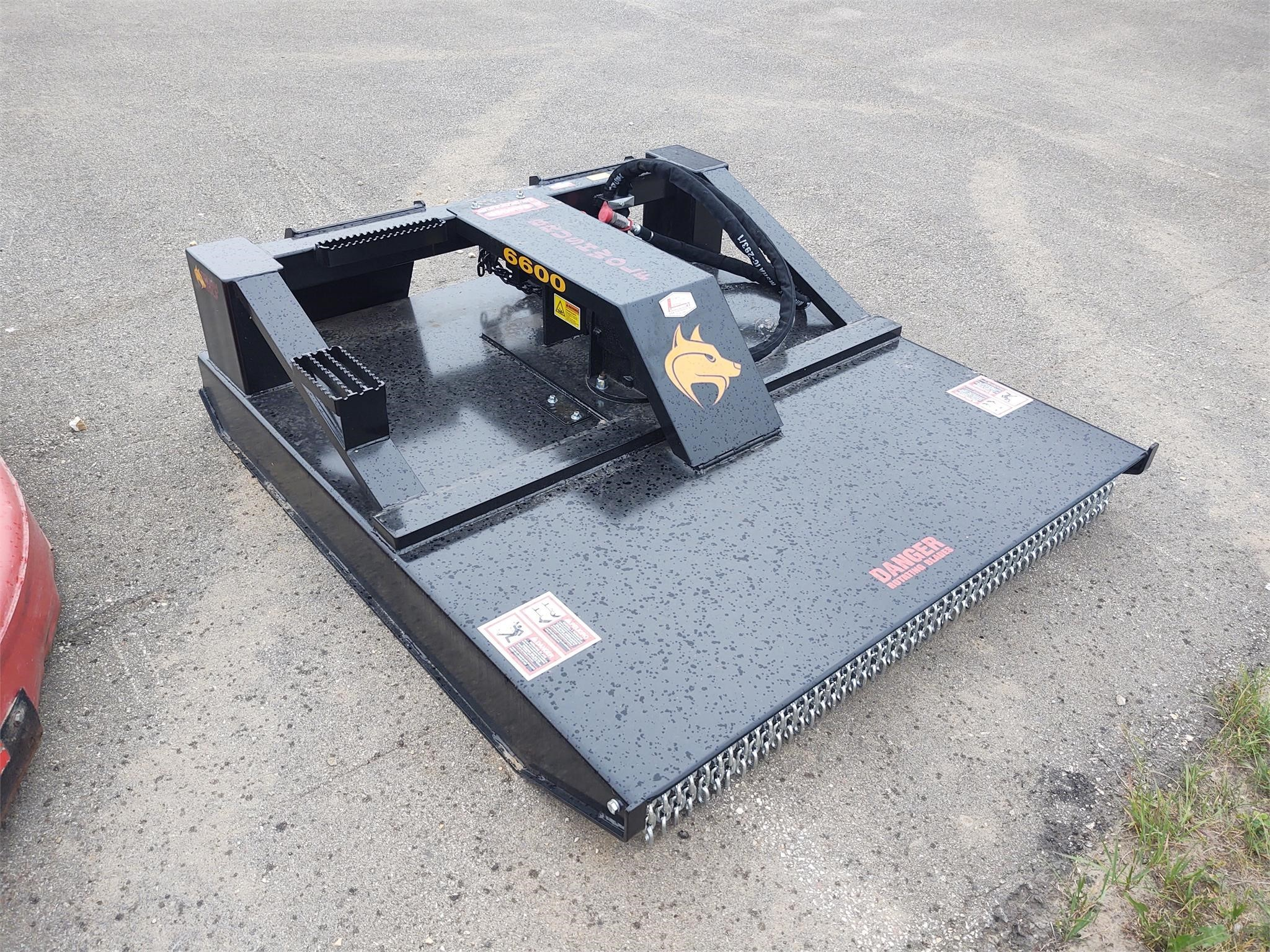 2021 Brush Wolf 6600 Loader and Skid Steer Attachment