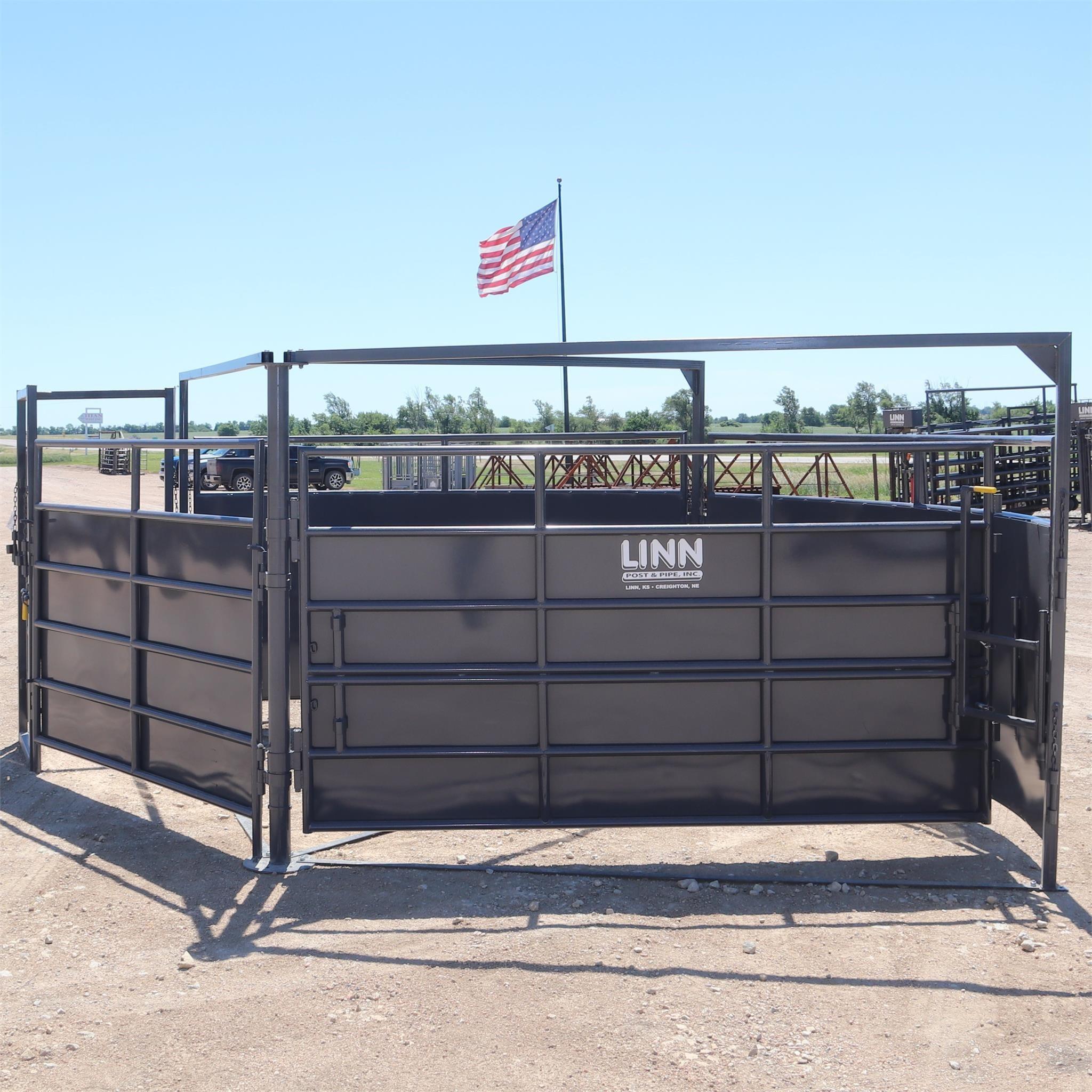 LINN POST & PIPE INC 2/3 CT10 Cattle Equipment