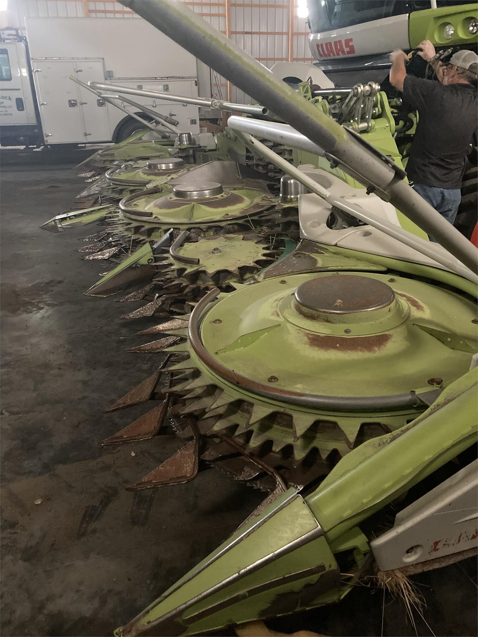 2015 Claas ORBIS 750 Forage Harvester Head