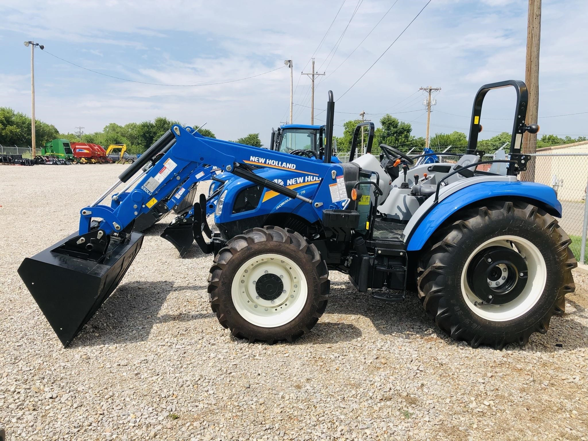 2021 New Holland Workmaster 75 Tractor