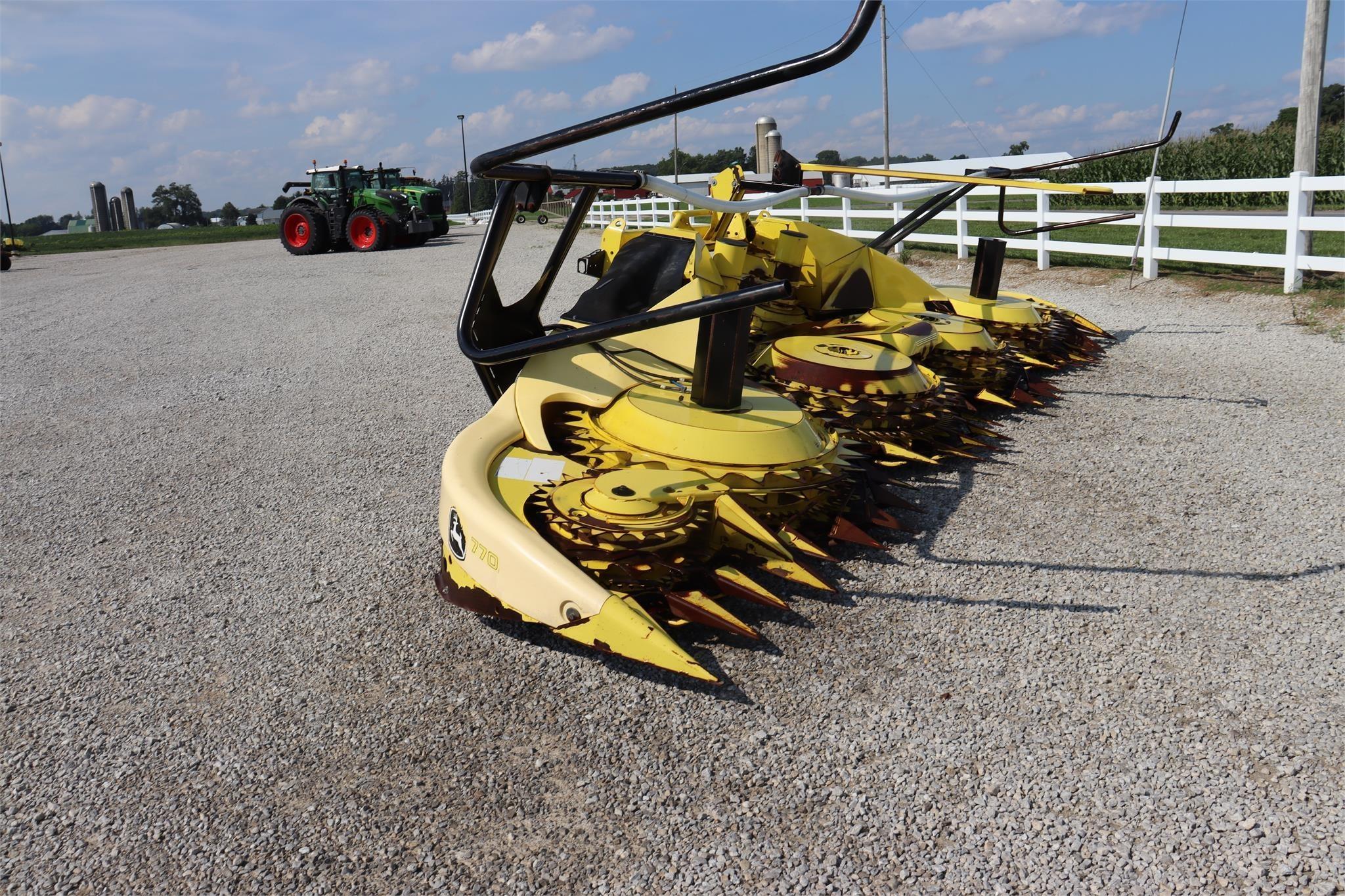 2012 John Deere 770 Forage Harvester Head