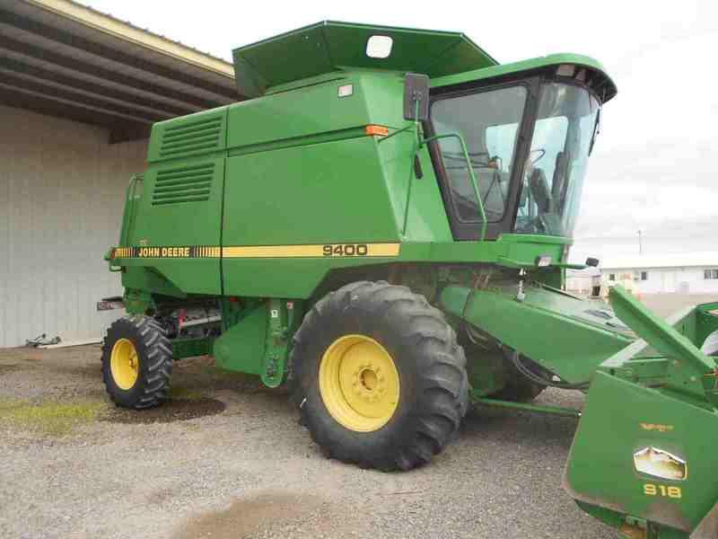 John Deere Combine >> John Deere 9400 Combines For Sale Machinery Pete
