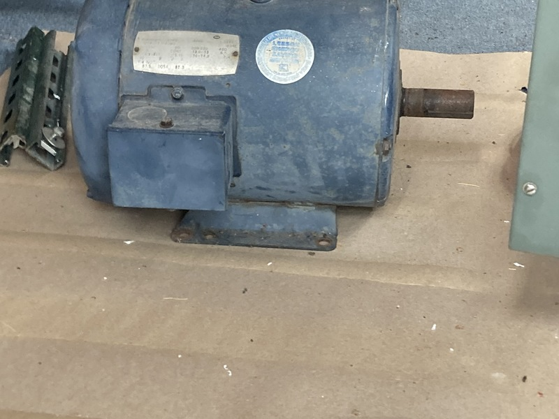 Hutchinson Auger & Leeson Motor w/Speed Control-Augers & Conveyors