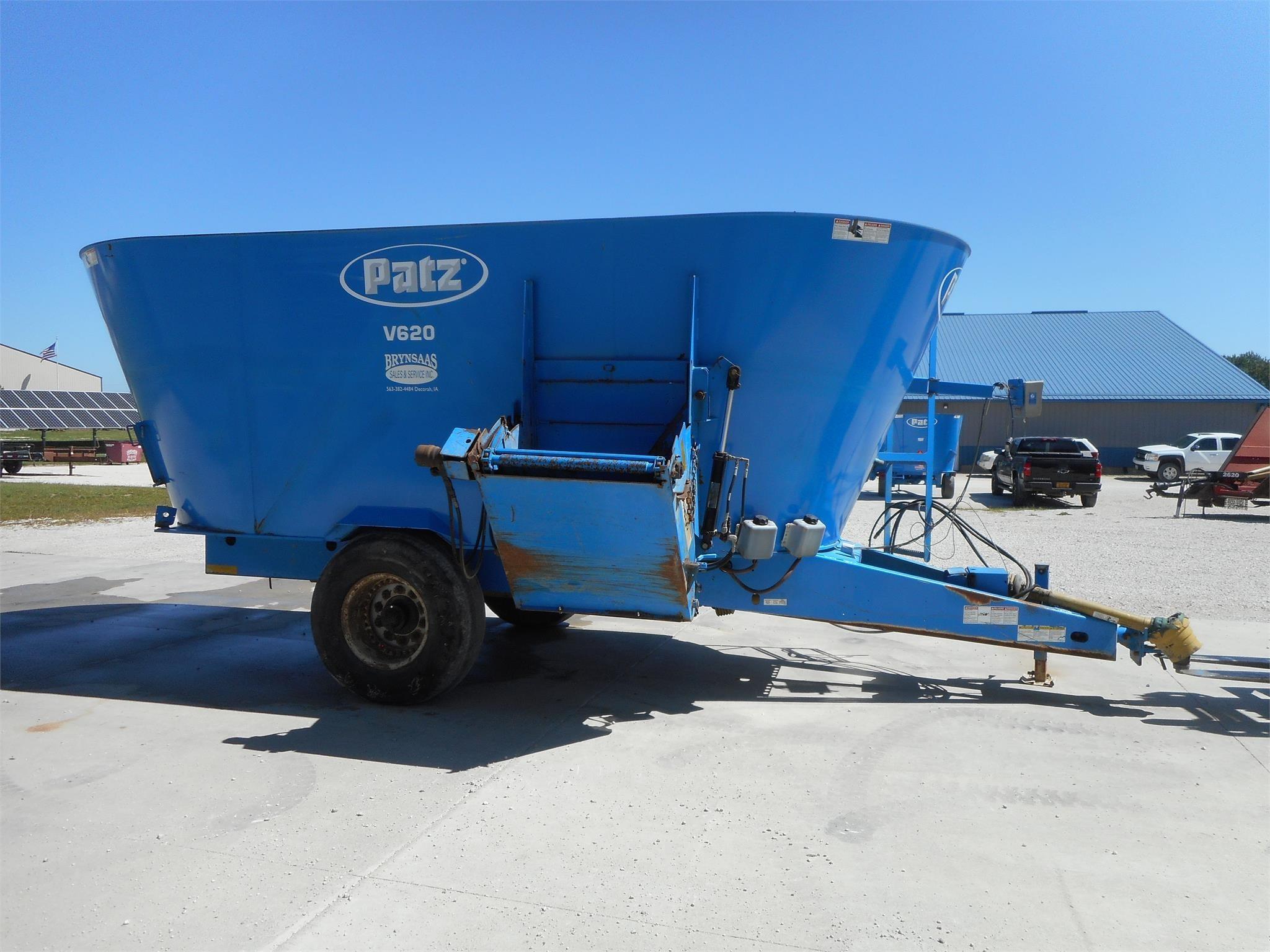 2012 Patz 1600 SERIES 620 Feed Wagon