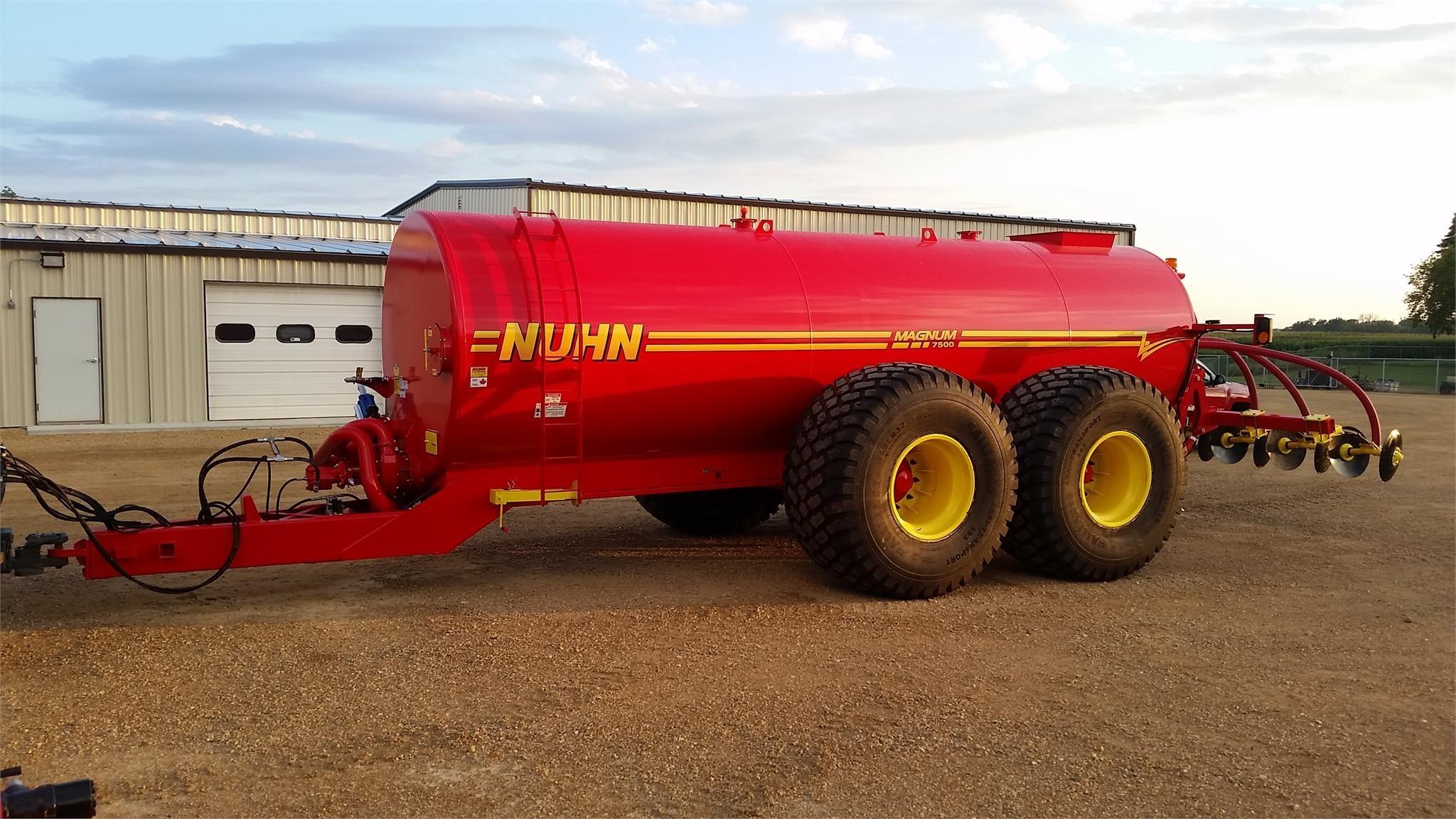 Nuhn 7500 Manure Spreader