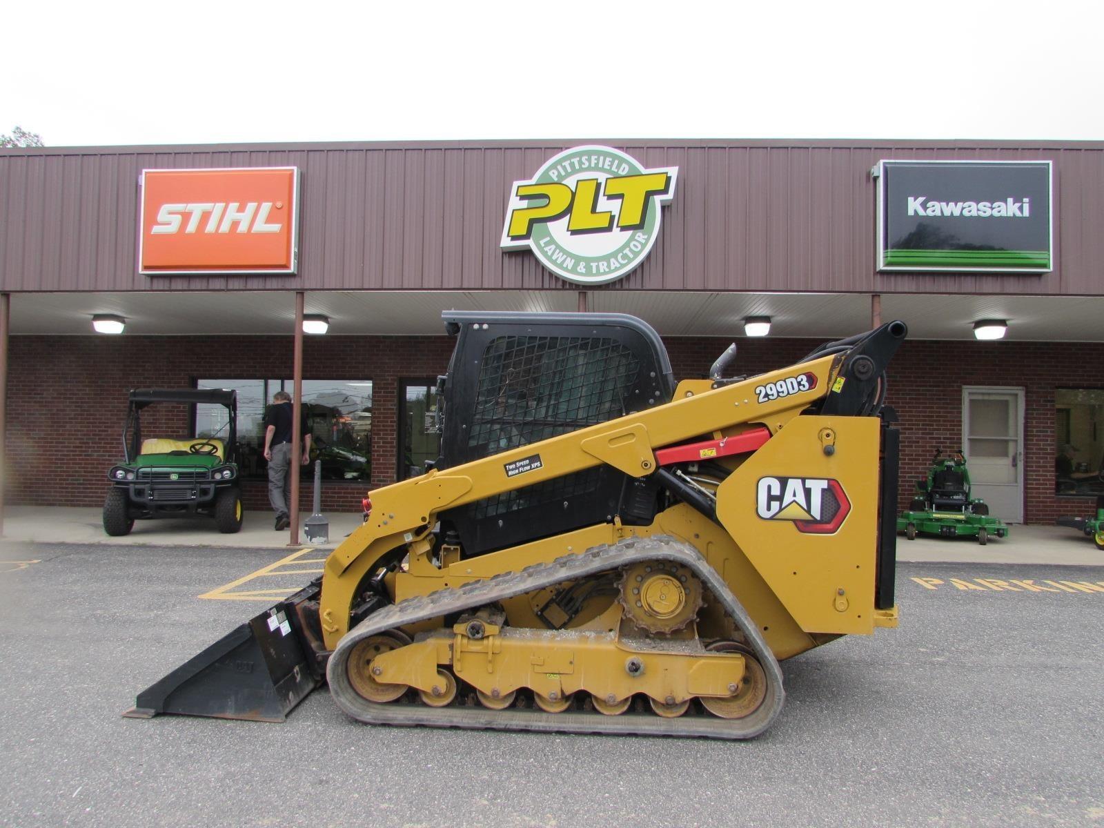 2020 Caterpillar 299D3 Skid Steer