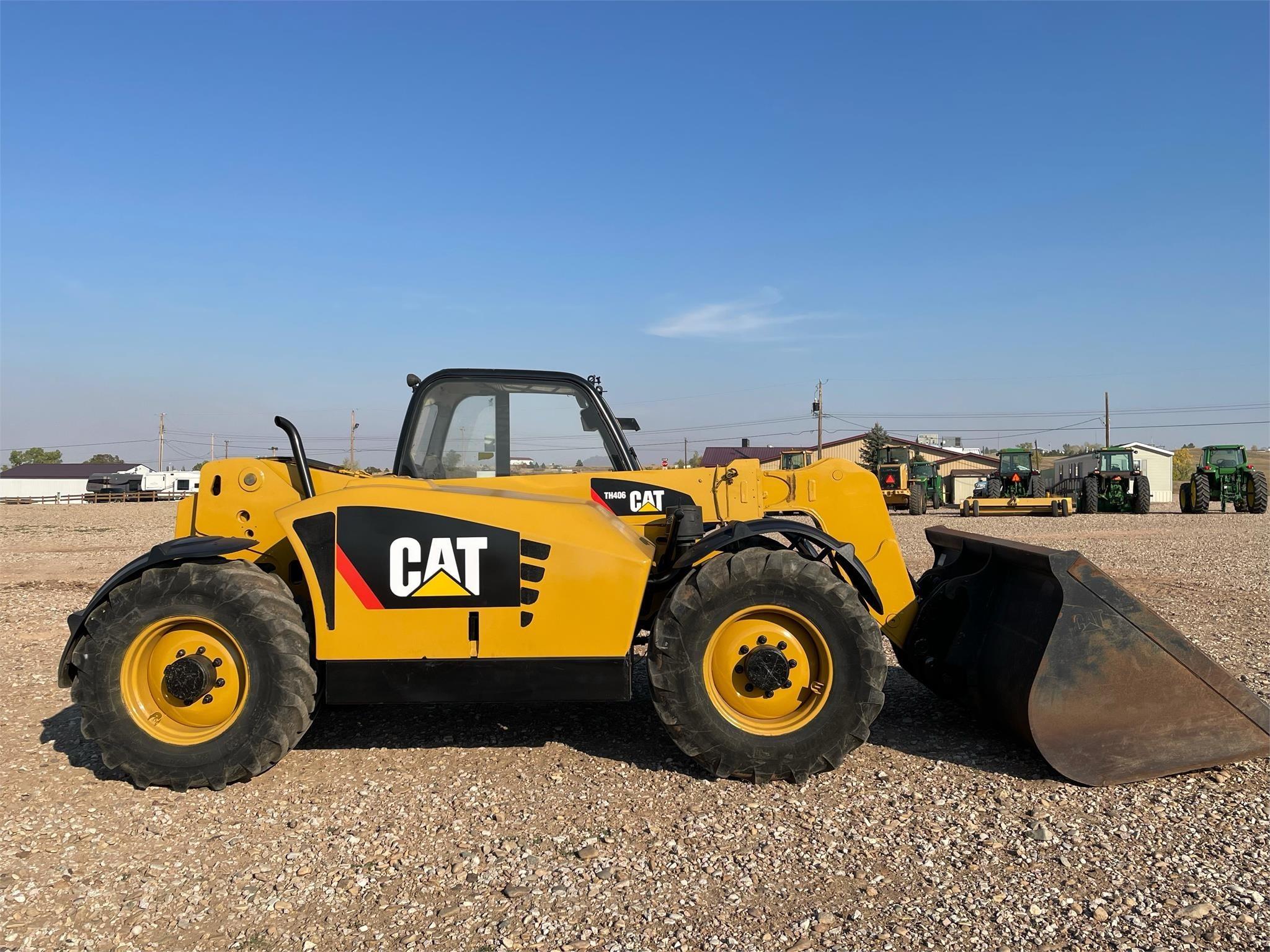 2010 Caterpillar TH406 Telehandler