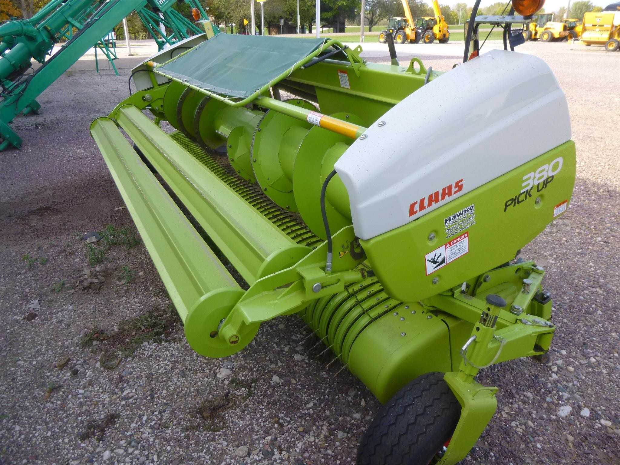 2015 Claas PU380PRO Forage Harvester Head