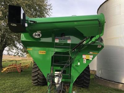 2013 J&M 1051-22 Grain Cart