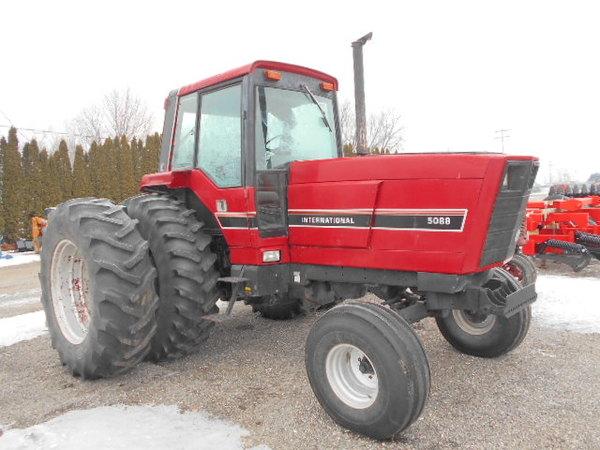 International Harvester 5088 : International harvester tractor fremont mi
