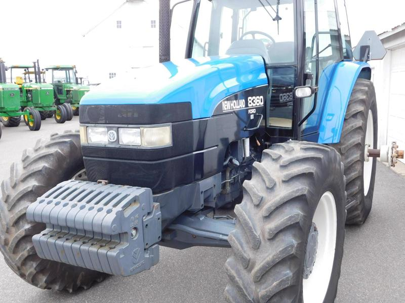 1996 New Holland Tractor : Ford new holland tractor ringoes nj
