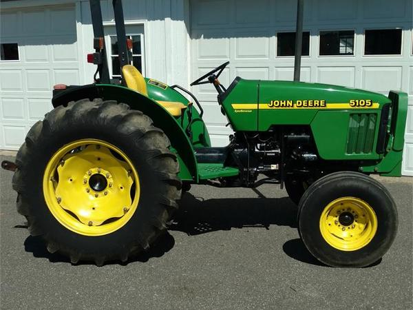 Used John Deere 5105 : John deere tractor ringoes nj machinery pete