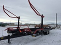 2016 Buhler Farm King 2450 Bale Wagons and Trailer