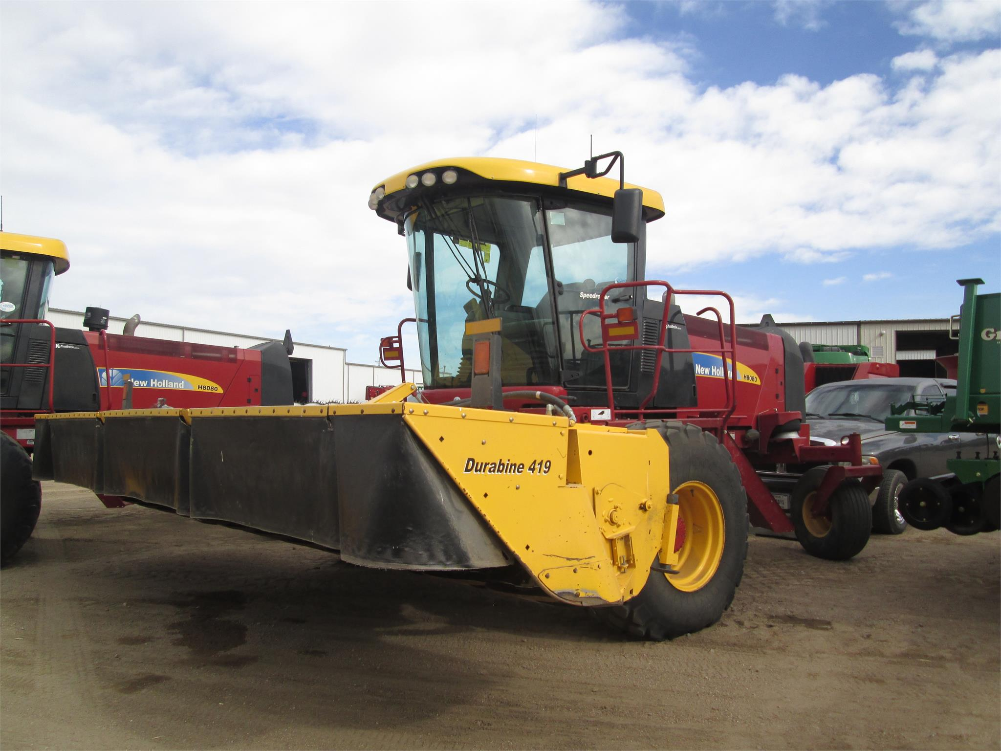 2013 New Holland H8080 Self Propelled Windrowers And Swather   Garden City,  KS | Machinery Pete
